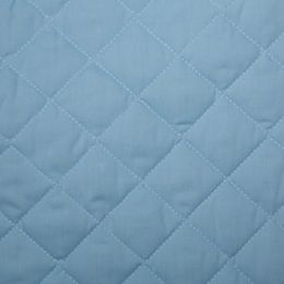 Classic Polycotton Fabric Quilted | Pale Blue
