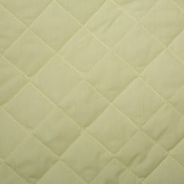 Classic Polycotton Fabric Quilted | Lemon