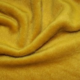 Mohair Touch Coating Fabric | Ochre