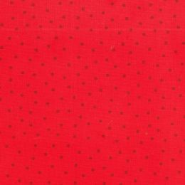 Extra Wide Fabric | Spot Red