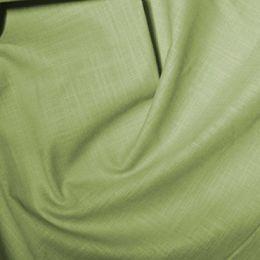 Linen Look Cotton Fabric | Green