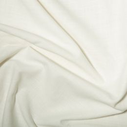 Linen Look Cotton Fabric | Ivory