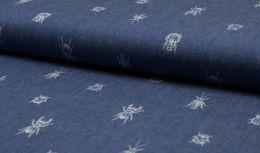 Chambray Print   Bugs & Beetles