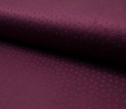 Suede Fabric 3D Embossed | Rich Aubergine