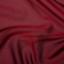 Chiffon Dress Fabric - Cationic | Wine