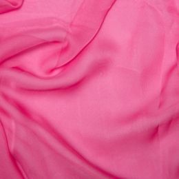 Chiffon Dress Fabric - Cationic | Sugar Pink