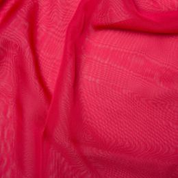 Chiffon Dress Fabric - Cationic | Cherry