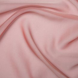 Chiffon Dress Fabric - Cationic | Shrimp