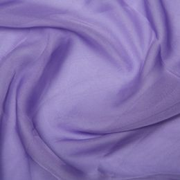 Chiffon Dress Fabric - Cationic | Lavender