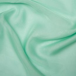 Chiffon Dress Fabric - Cationic | Mint