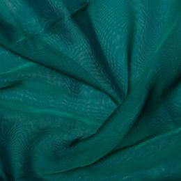Chiffon Dress Fabric - Cationic | Jade