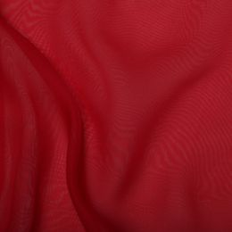 Japanese Premium Chiffon Fabric | Red