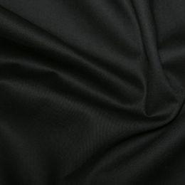 Gaberdine Twill Weave Fabric | Black