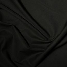 Classic Polycotton Fabric Wide Width | Black