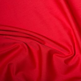 Classic Polycotton Fabric Wide Width | Red