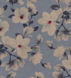 Scuba Suede Fabric Print | Blossom