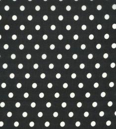 Crepe Chiffon Lightweight | Spot Black