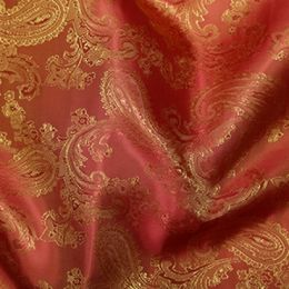 Paisley Jacquard lining Fabric | Colour 24