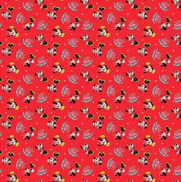 Disney Jersey Fabric | Minnie Mouse Go With The Bow