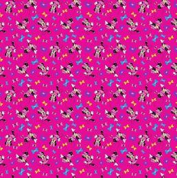 Disney Jersey Fabric | Minnie's Best Bow