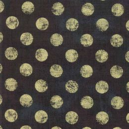 Moda Fabric Grunge Hits The Spot Metallic | Expresso