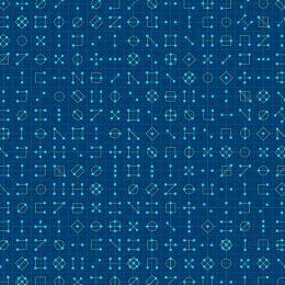 Declassified Fabric | Cipher Tanzanite