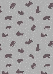 Lewis & Irene Jersey Fabric | Big Bear