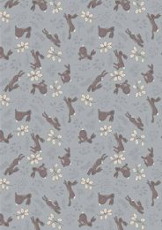 Lewis & Irene Jersey Fabric | Spring Hare