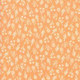 Summer Sweet Fabric   Floral Apricot Fat Quarter