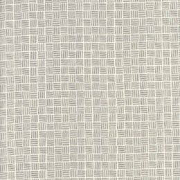 Summer Sweet Fabric | Check Ivory And Charcoal Fat Quarter