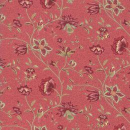 Le Beau Papillon Fabric | Euthalia Faded Red
