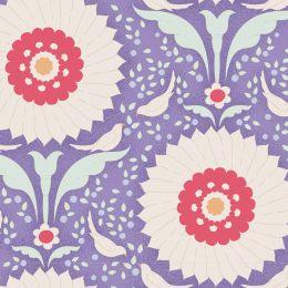 Bon Voyage Tilda Fabric   Ringflower Blue
