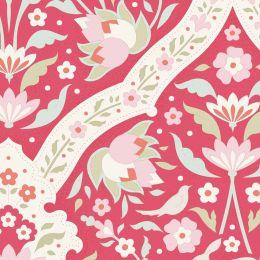 Bon Voyage Tilda Fabric | Hire Tile Red