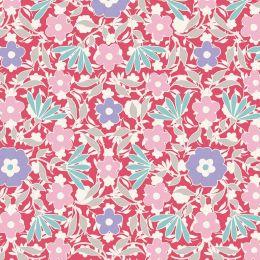 Bon Voyage Tilda Fabric | Allison Red