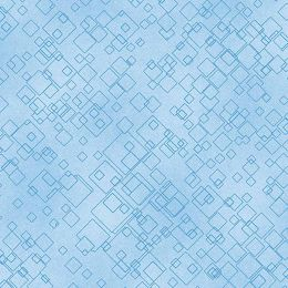 Dog On It Fabric | Tonal Squares Light Blue