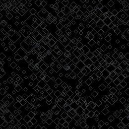 Dog On It Fabric   Tonal Squares Black