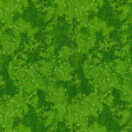 Mystic Vine Blender Fabric | Lime