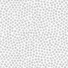 White On White Fabric | Tiny Flower