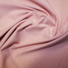 Organic Jersey Fabric Plain | Rose