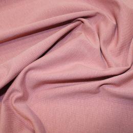 Organic Jersey Fabric Plain | Blush