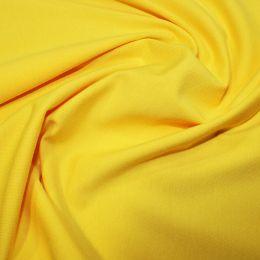 Organic Jersey Fabric Plain | Yellow