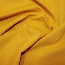 Organic Jersey Fabric Plain | Ochre