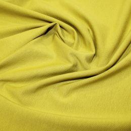 Organic Jersey Fabric Plain | Lime