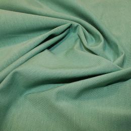 Organic Jersey Fabric Plain   Sage