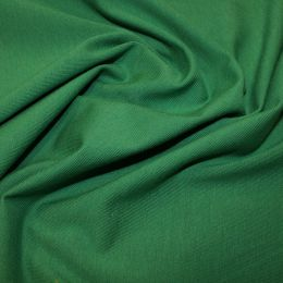 Organic Jersey Fabric Plain | Emerald