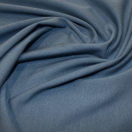 Organic Jersey Fabric Plain | Denim
