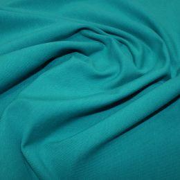 Organic Jersey Fabric Plain | Teal
