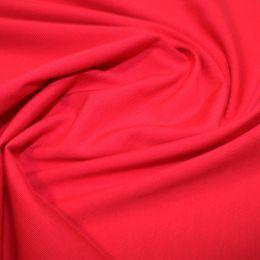 Organic Jersey Fabric Plain | Red