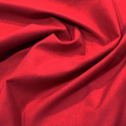 Organic Jersey Fabric Plain | Wine
