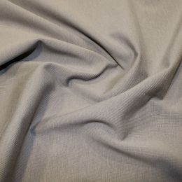 Organic Jersey Fabric Plain | Light Grey